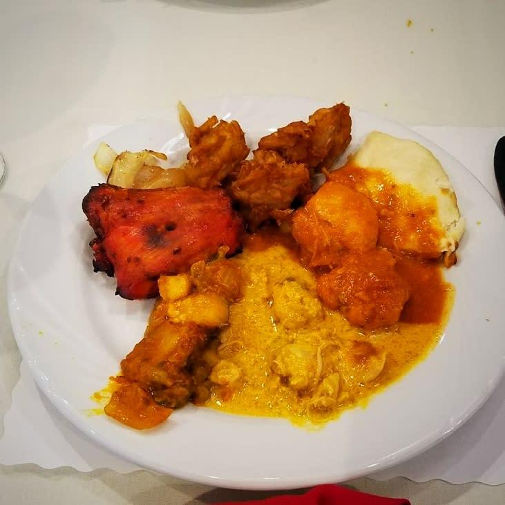 Taste of India food