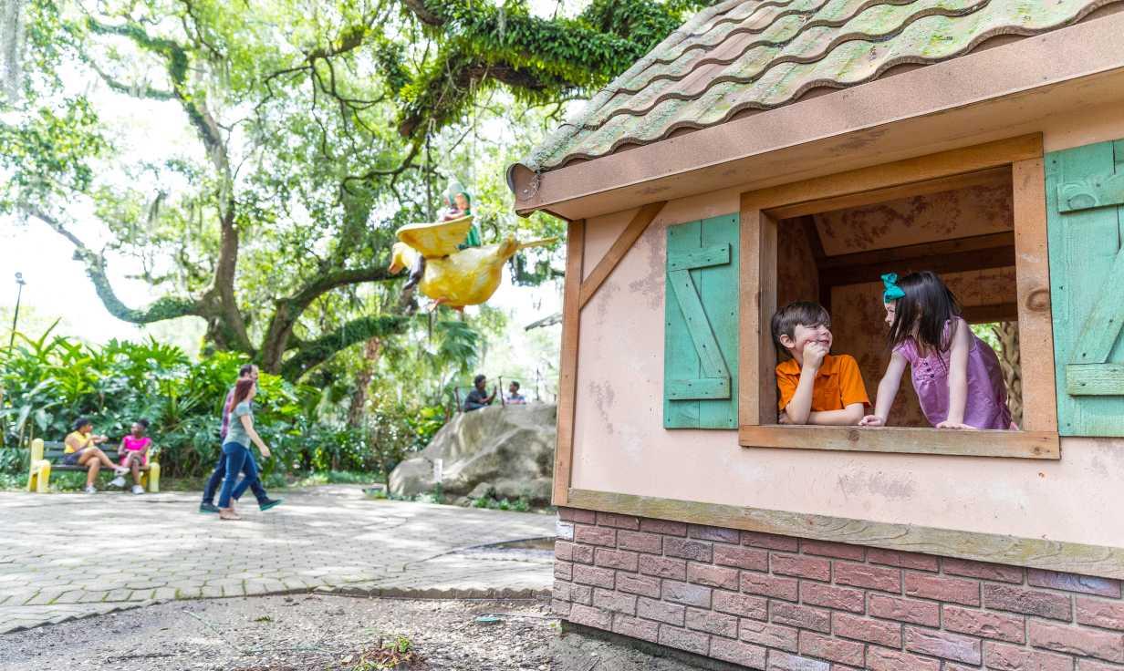 Storyland- New Orleans City Park- Carousel Gardens