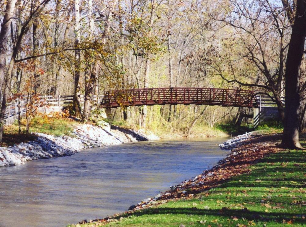 Bridge at Arbuckle Acres Park