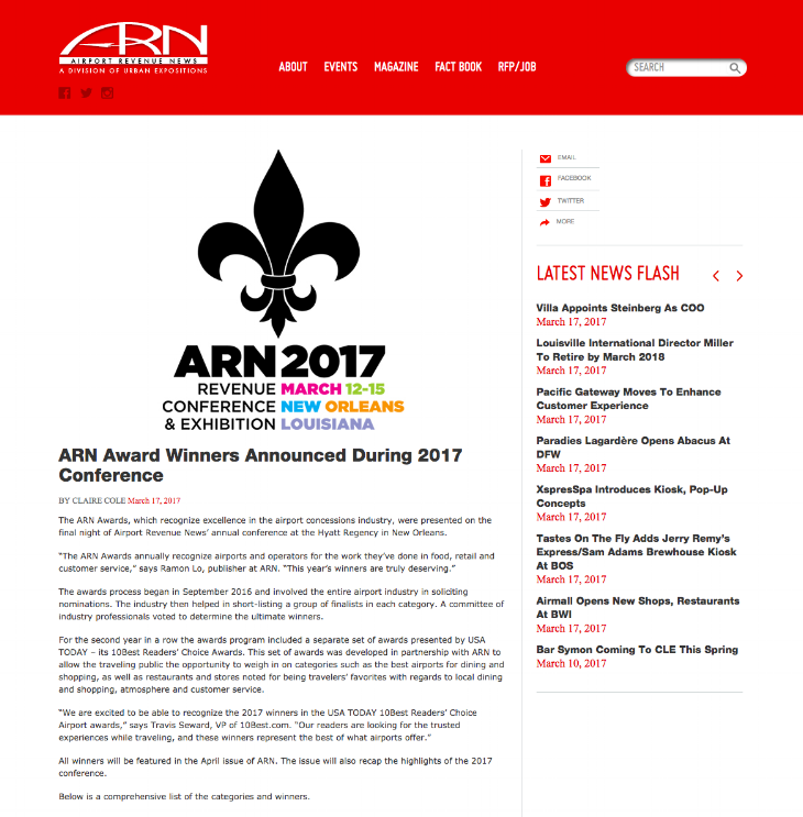 Eppley article on ARN.com