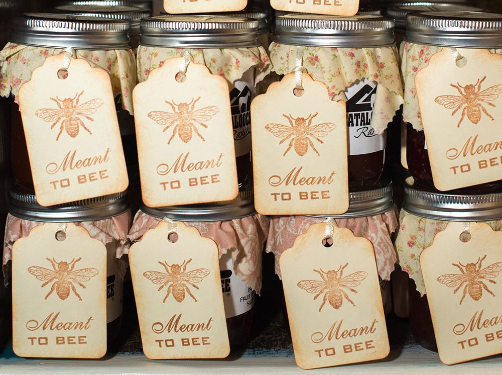 Honey Jar Wedding Favor