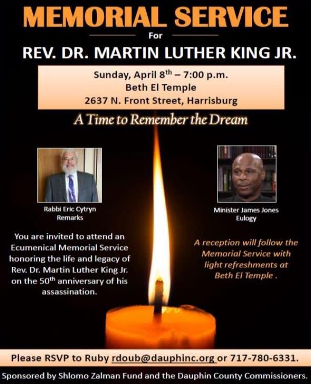 MLK Anniversary 2018 - Memorial Service
