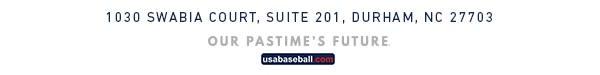 USA Baseball News Release