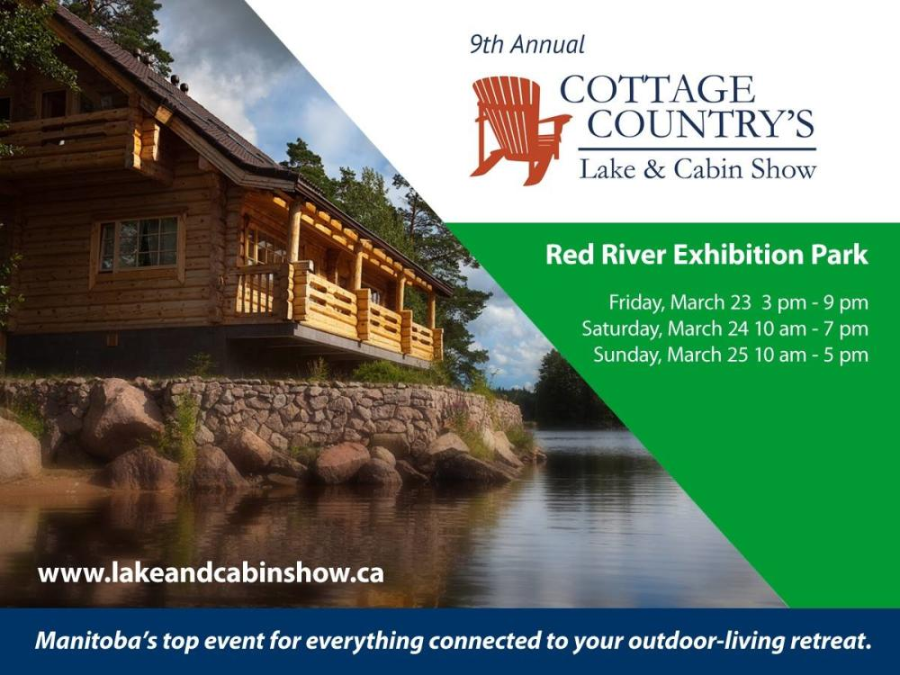 Cottage Country's Winnipeg Lake and Cabin Show