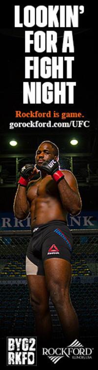 UFC Fight Night Ad