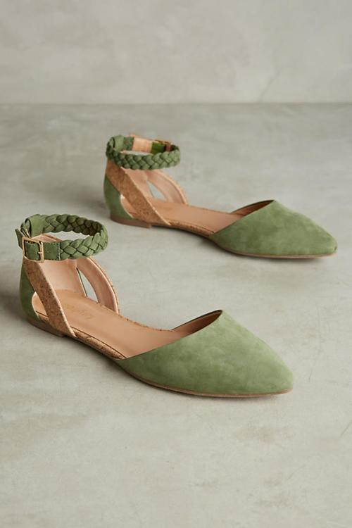 Green Sandals from Anthropologie