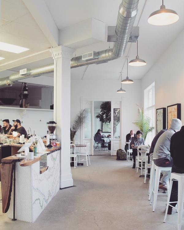 Conjure Coffee Interior