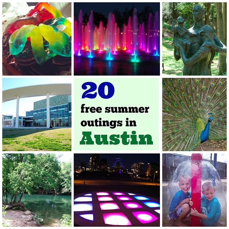 Austin 20 Free Summer Outings