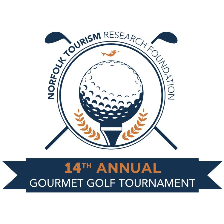 14th Annual Gourmet Golf Tournament logo 2017
