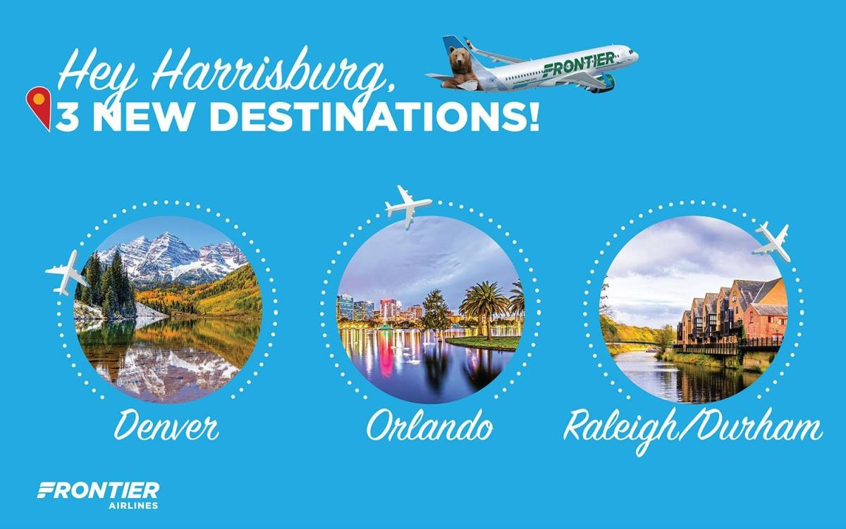 Frontier Airlines New Routes Banner 2018