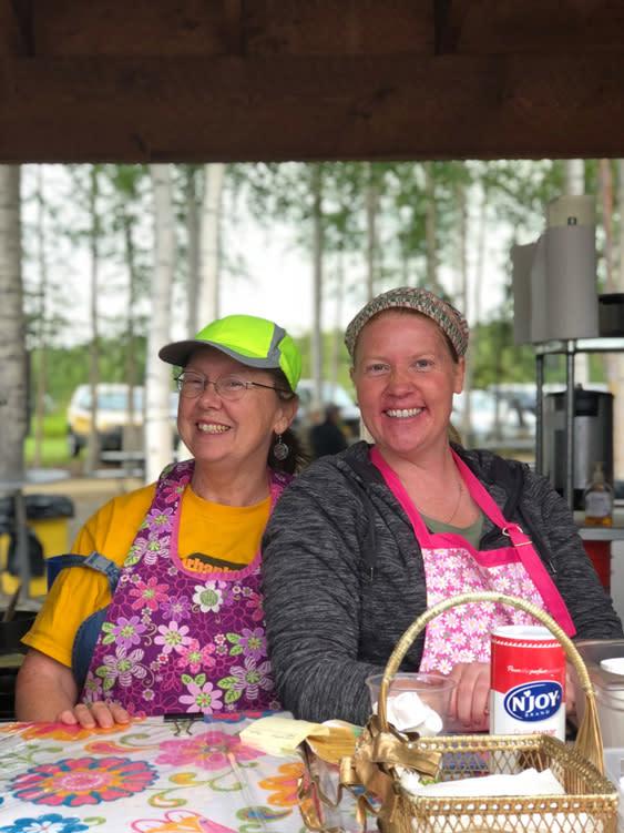 Farmers Markets - Fairbanks Alaska - Crepes