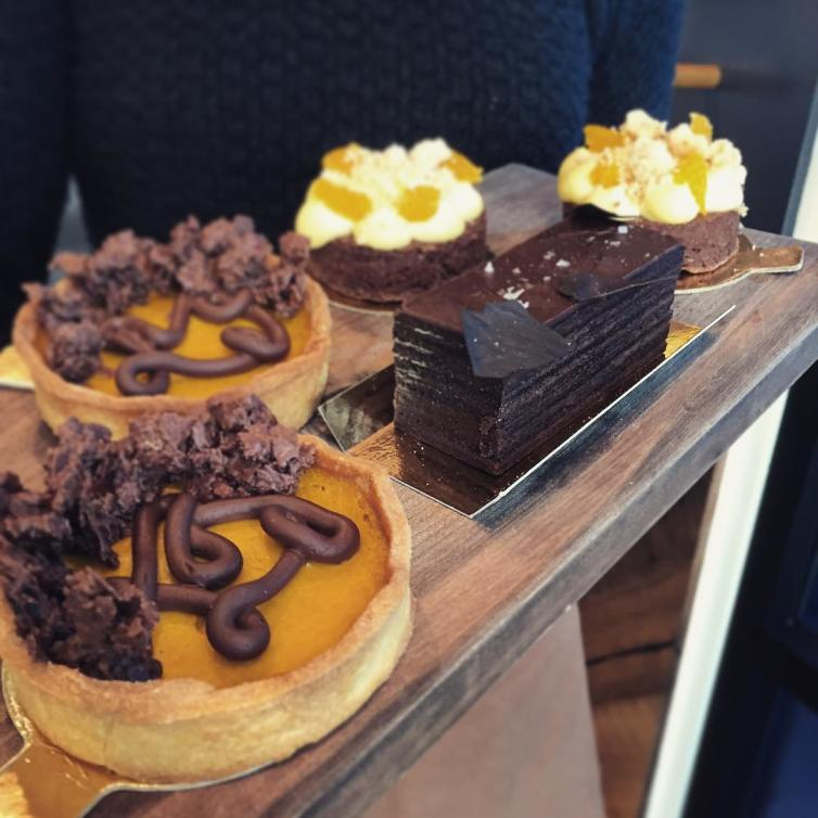 Waterfront Cafe Desserts