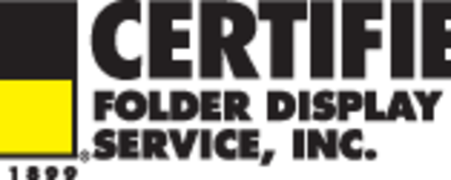 Logo - Certified Folder Display Services, Inc.