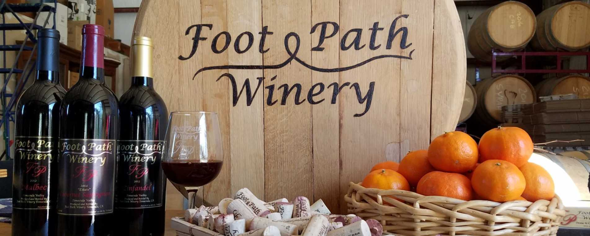 Foot Path Winery - Temecula