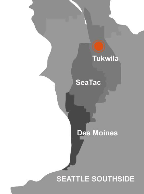 Tukwila Map