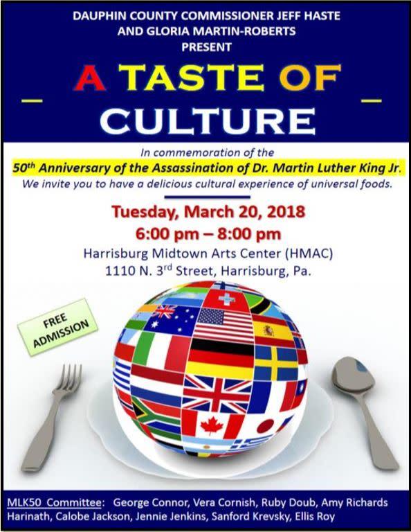 MLK Anniversary Event: Taste of Culture 2018