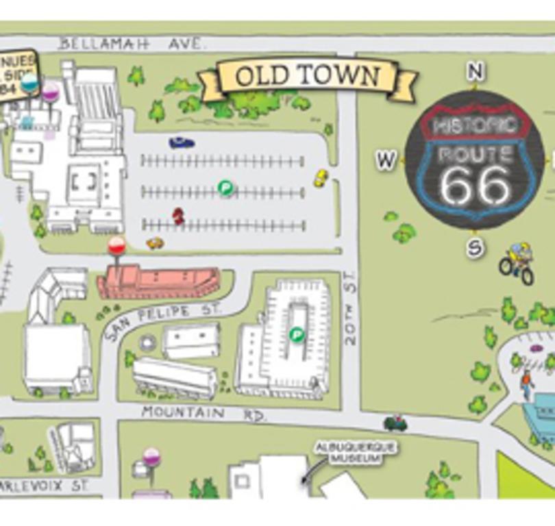 Discovery Map of Albuquerque