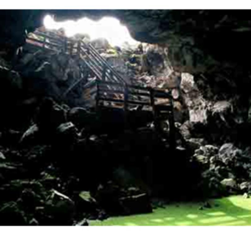 Ice Cave & Bandera Volcano