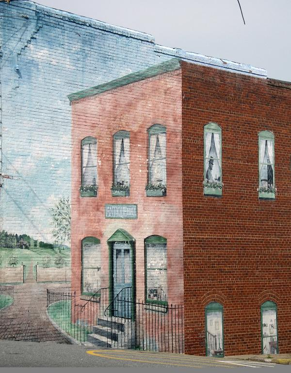 Historic Guests Rutherfordton Mural