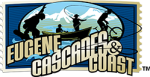 Eugene Cascades and Coast horizontal logo