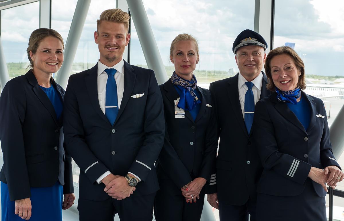 SAS crew before flight