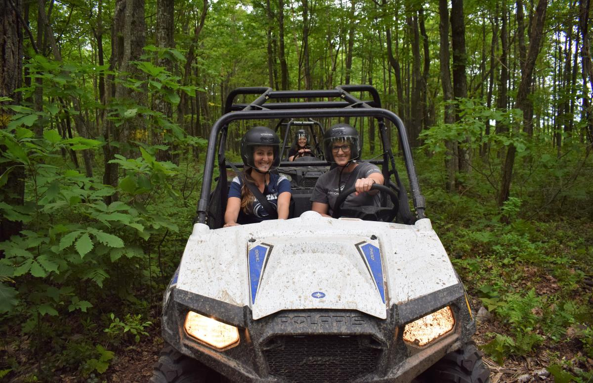 UTV Adventures at  Pocono Outdoor Adventures