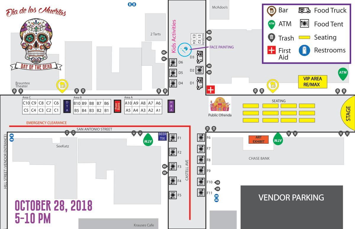 DDLM 2018 Map