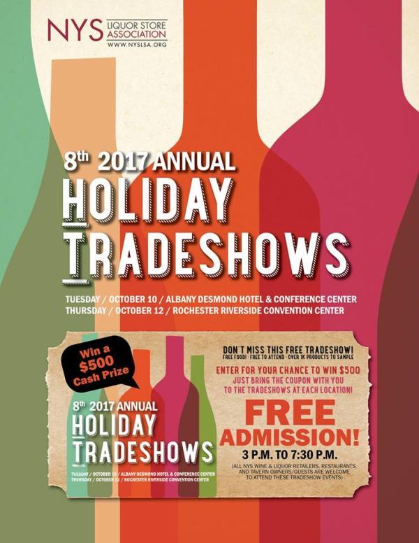 New York State Liquor Store Association Holiday Tradeshow