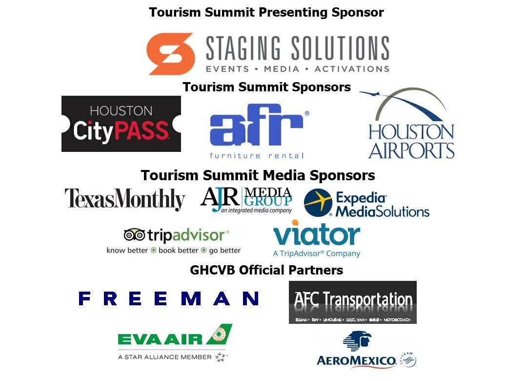 Tourism Summit Sponsors 2018