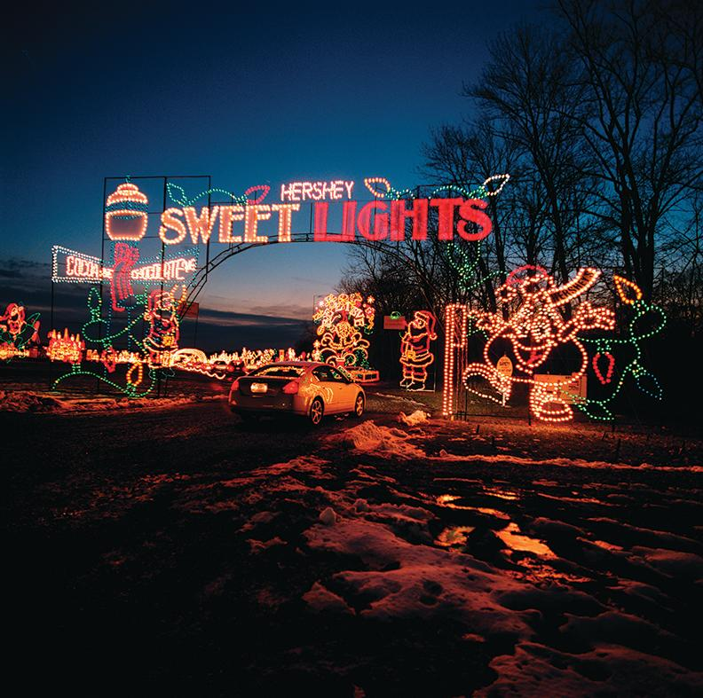 Sweet Lights in Hershey PA - Christmas