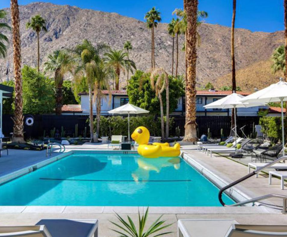 The Three Fifty Hotel Pool