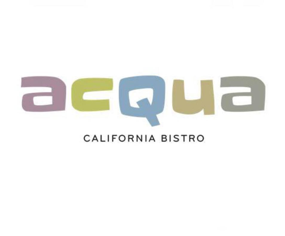 Acqua California Bistro Large Logo