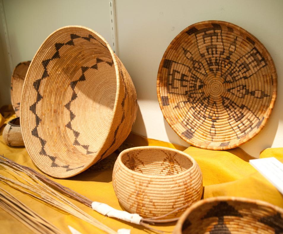 Coachella Valley History Museum Cahuilla Baskets