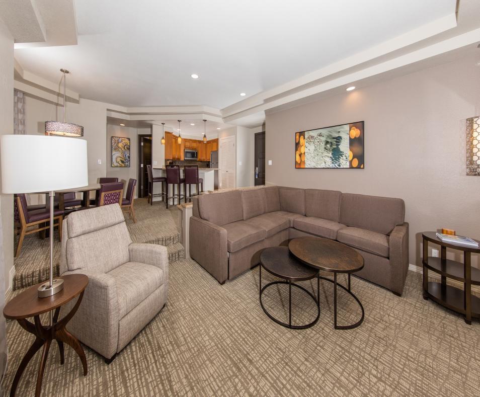 Villa Living and Dining Room
