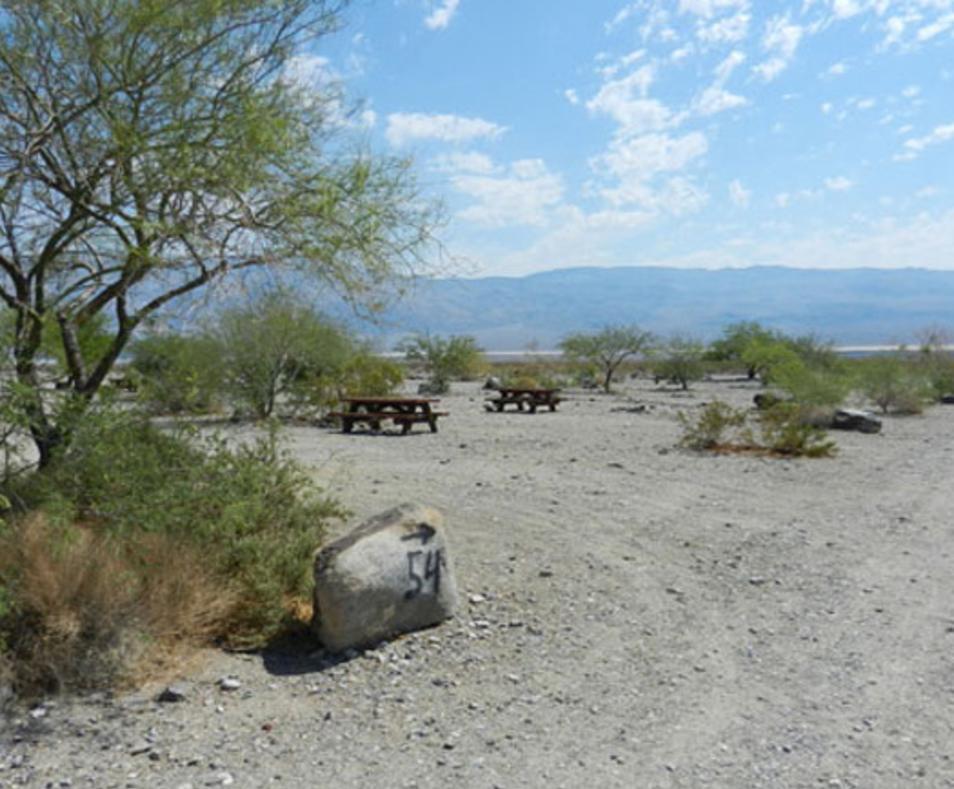 Dry RV site