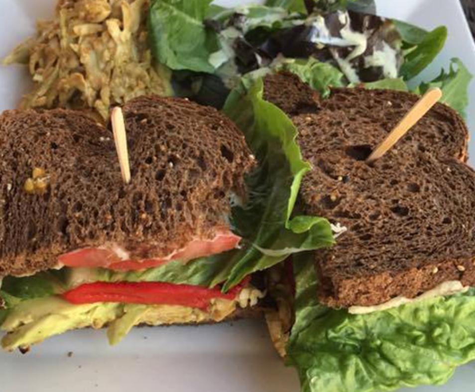 Ein Brathaus Sandwich
