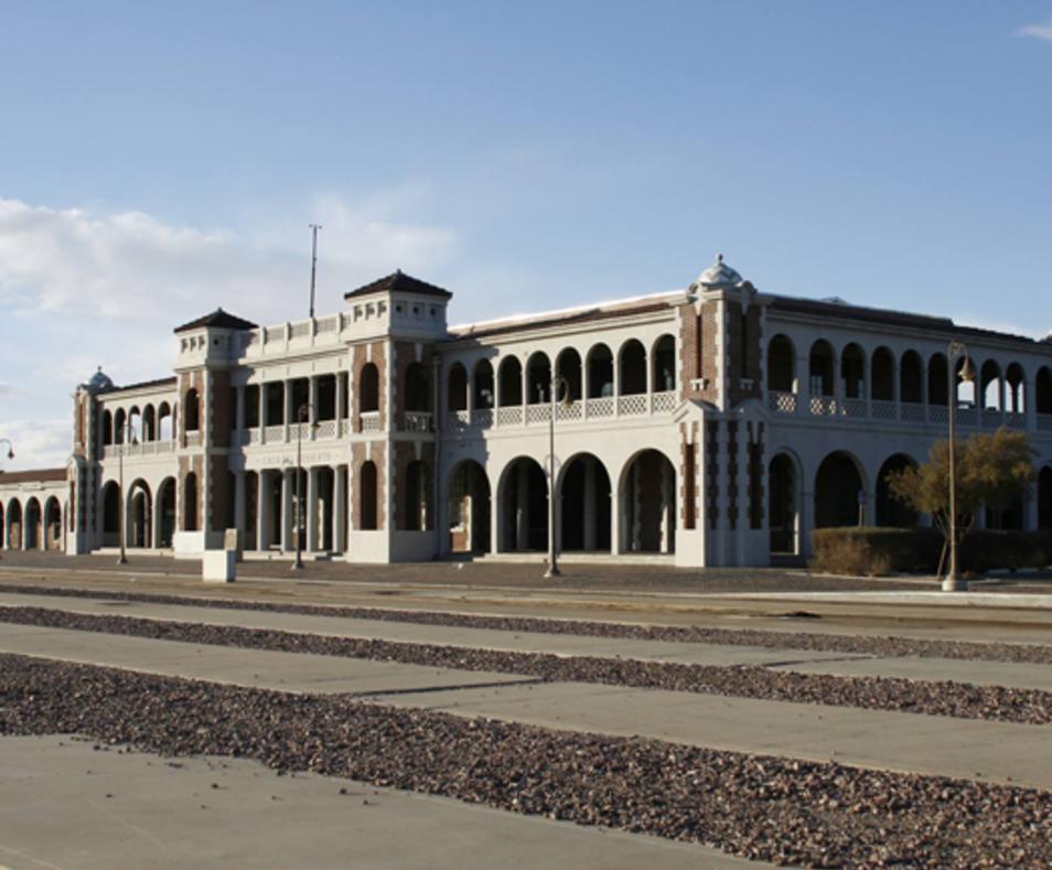 Harvey House Railroad Depot