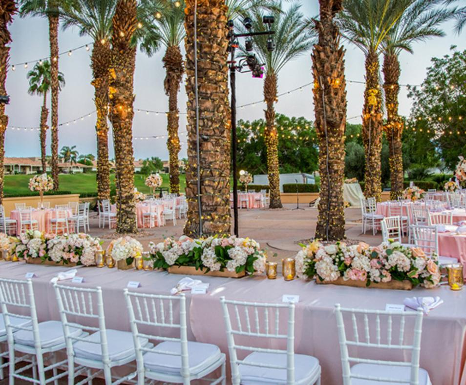 Real Weddings at The Westin Mission Hills - Master's Plaza
