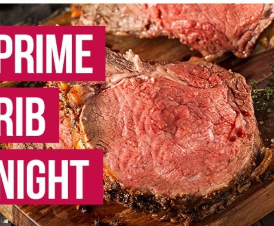 OFFER: Prime Rib Night