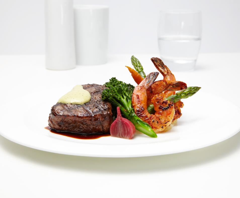 Roy's filet & shrimp