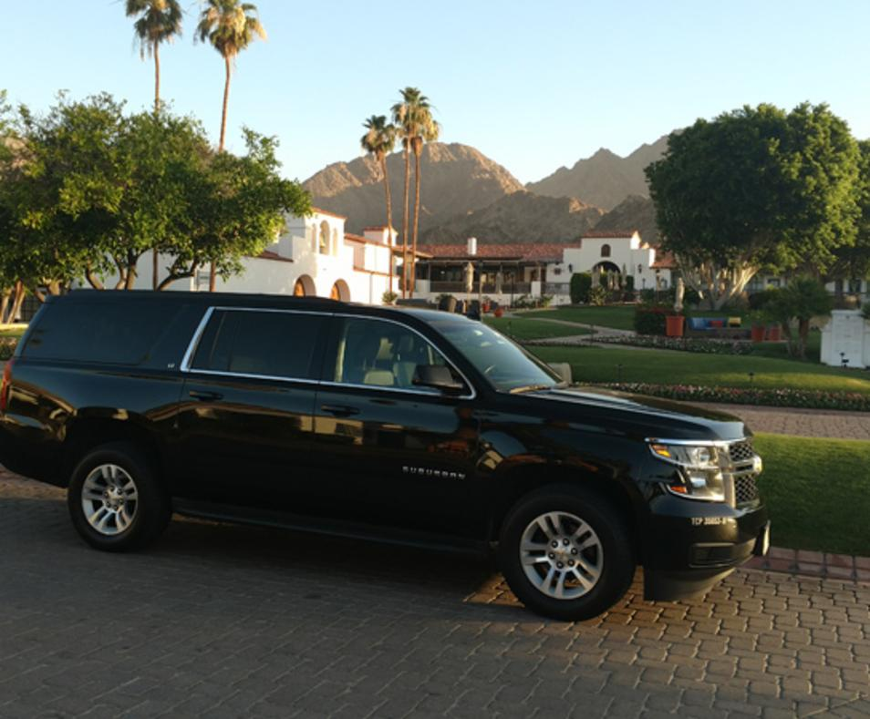 SUV at La Quinta Resort