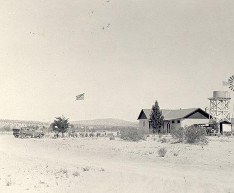Old schoolhouse circa 1936