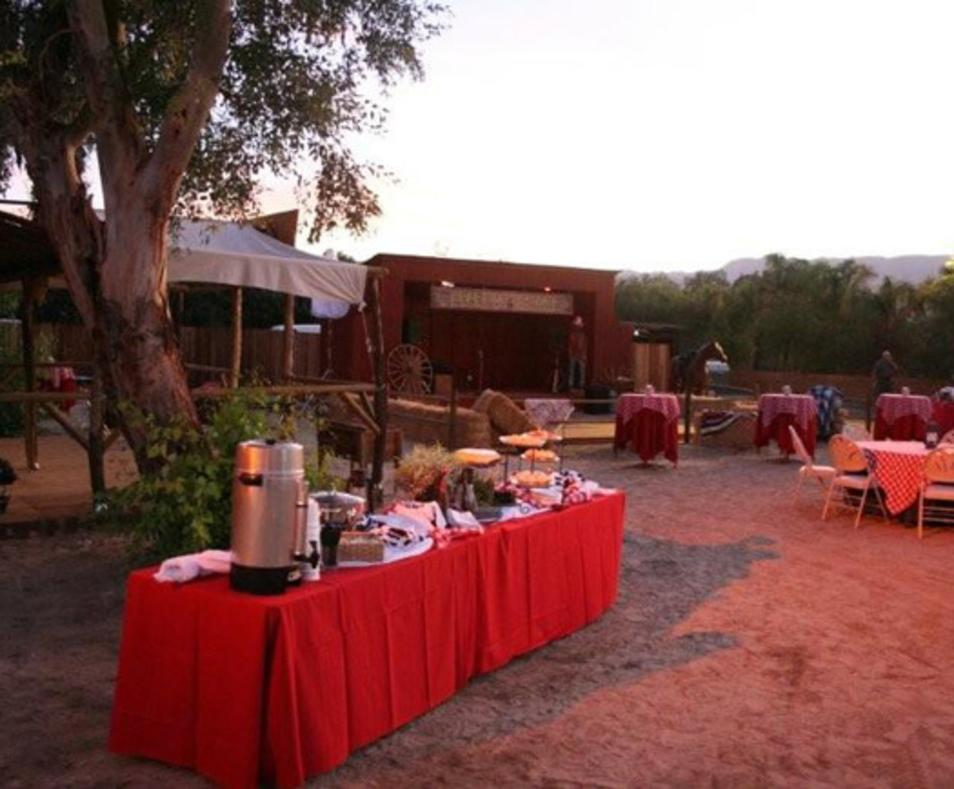 Western style event