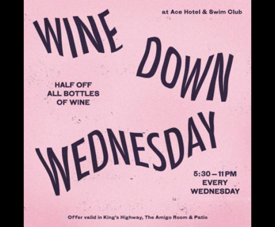 OFFER: Wine Down