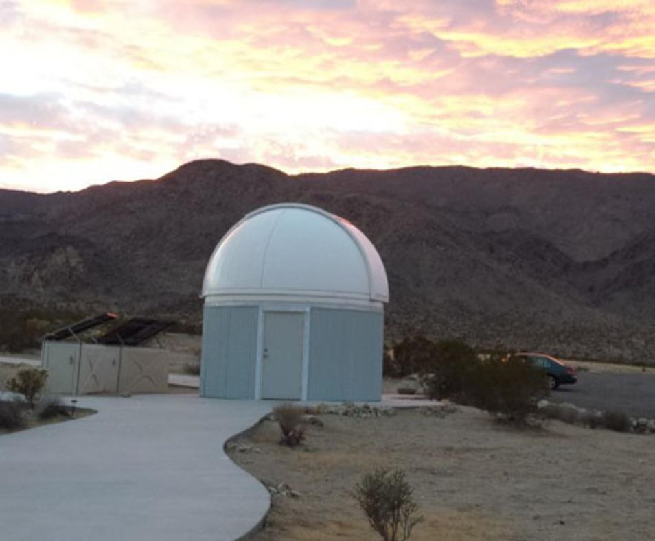 Dome at sunset