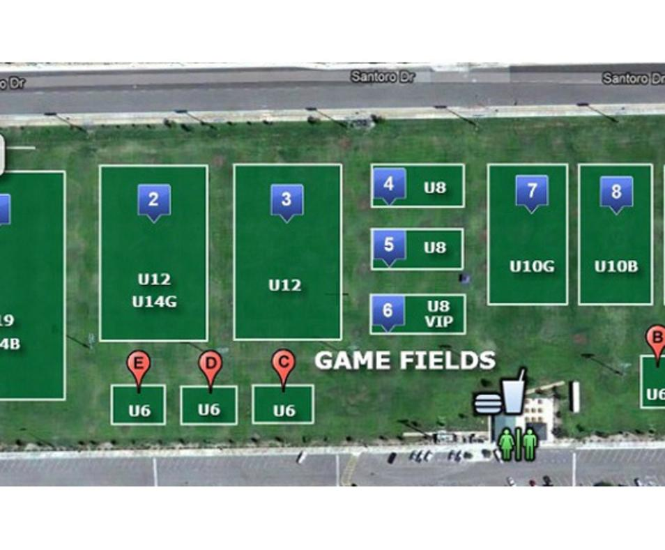 Dennis Keat Soccer Park Game Fields