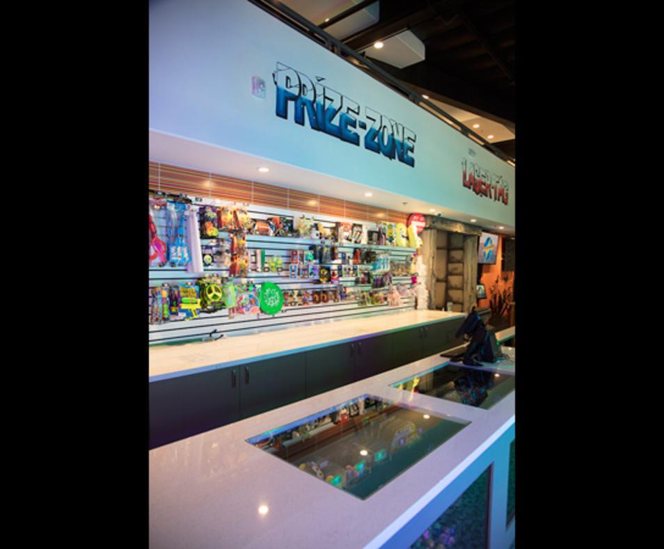 Laser Oasis prize zone
