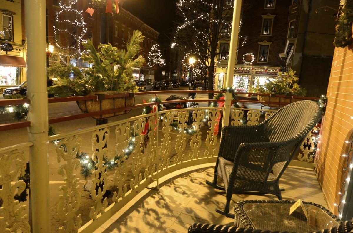 Downtown Jim Thorpe in the Pocono Mountains