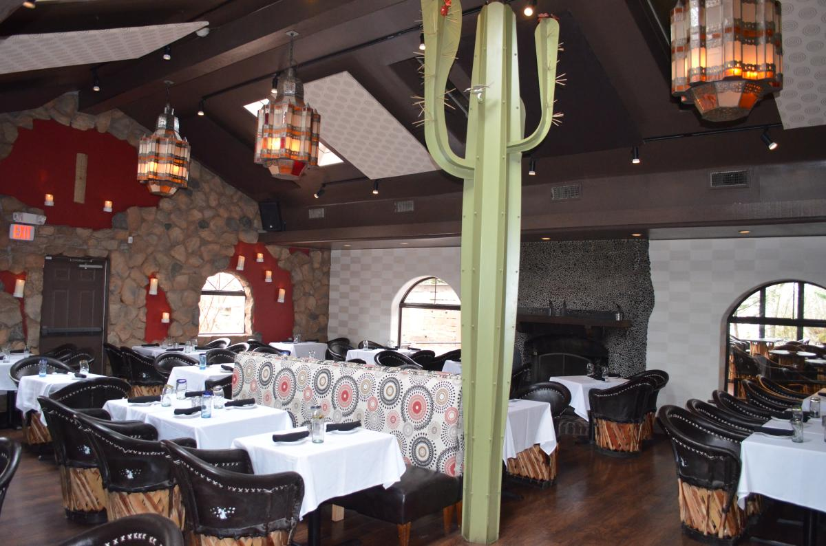 Dining Room at Coyote Crossing Mexican Restaurant