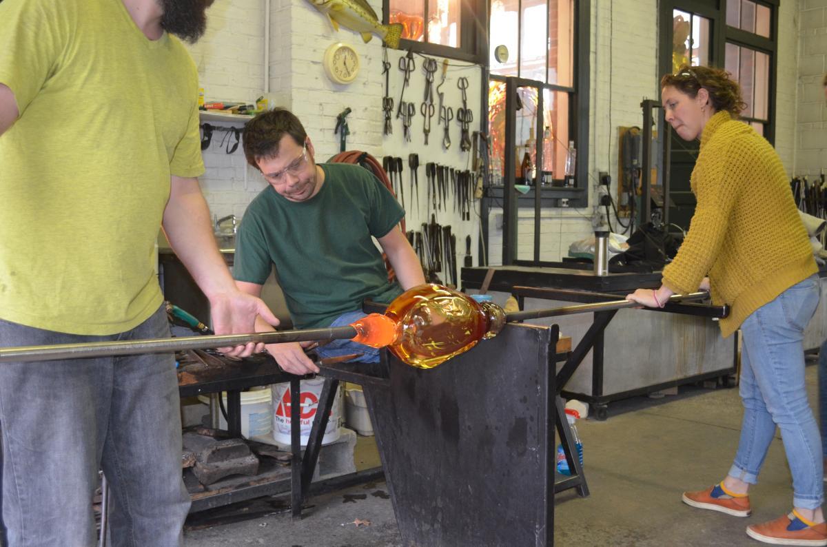 Artisans at Work at Taylor Backes